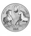 Сребърен медальон Свети Тодор