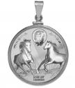 Silver Pendant St. Todor