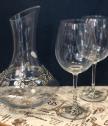 Декантер + 2 чаши за вино