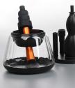 Електрически уред за почистване на четки за грим