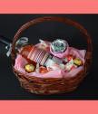 Silver Fantasy Gift Basket
