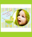 Хавлиена кърпа с дизайнерски принт за бебе