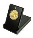 Медал Света Богородица, Умиление, с масивно златно покритие