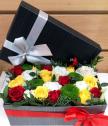 Аранжировка в подаръчна кутия