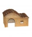 Къщичка за гризачи с извит покрив Nature 30х20х20 см