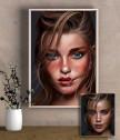 Aрт портрет по снимка