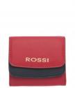 Малко дамско портмоне в цвят корал - ROSSI