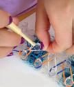 Стан и Ластици за Плетене на Гривни от Ластици