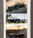 Репродукция BMW 1957 - черно