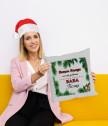 Коледна възглавничка с Ваш текст
