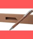 Бамбукова химикалка в кутия от еко картон