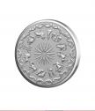 Сребърен медальон Зодия Лъв