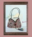Репродукция Котка в тигрова чанта