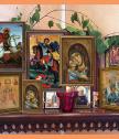 Репродукция на икона Свети Мина