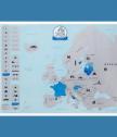 Скреч карта на Европа за изтриване
