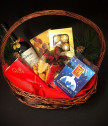 Подаръчна Коледна кошница 63
