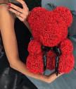 Мече от рози в кутия