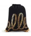 Чанта с шнур Baggy Black and Gold