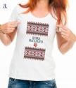 Тениски за моминско и ергенско парти с фолклорни мотиви