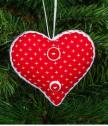 Играчка сърце червено