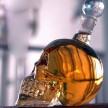Стъклена бутилка ЧЕРЕП