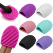 Силиконова гъба за почистване на четки за грим