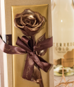 Шоколадова роза ръчна изработка