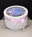 Подаръчен комплект Еднорог или Фламинго с вечни рози