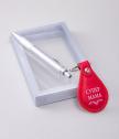 Комплект за мама с ключодържател и химикалка