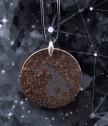 Медальон Кръг с истински метеорит