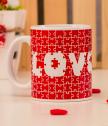 Порцеланова чаша Love