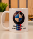 Cup BMW fan number 1 with your name