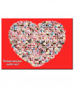 Collage of your photos heart