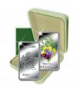 Сребърно кюлче с пожелание за здраве и късмет за Цветница