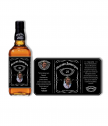 Bottle Jack Daniels with custom label