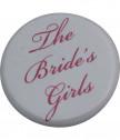 Значка за моминско парти за шаферка