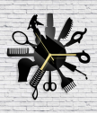 Wall Clock Hairdresser