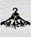 Стенен часовник Закачалка с птици