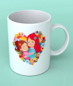 Керамична чаша Майка и дъщеря