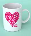 Чаша за майка със сърце