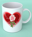 Чаша за най-добрата майка с роза