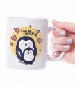 Чаша за майка с пингвинчета