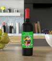 Персонализиран етикет на бутилка Честито Възкресение
