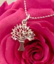Дамско сребърно колие Дървото на живота
