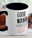 A cup for your loved one Good morning, handsome