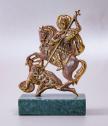 Бронзова статуетка Свети Димитър