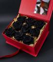 Вечни рози Love forever черно