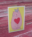 Картичка с добавена реалност Cats Love Mice