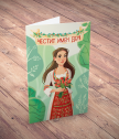 Card with augmented reality name day-girl