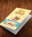 Картичка с  добавена реалност Рожден ден с Мечо